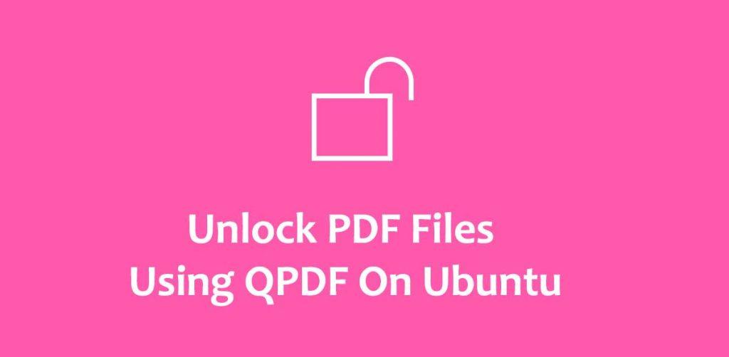 unlock-pdf-file-using-qpdf-php